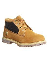 Timberland | Brown Nellie Padded Collar Boots | Lyst