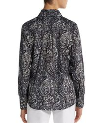 Robert Graham - Black Sensation Cotton Shirt - Lyst