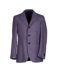 Ballantyne - Purple Blazer for Men - Lyst