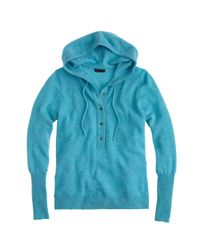 J.Crew - Gray Collection Cashmere Getaway Hoodie - Lyst