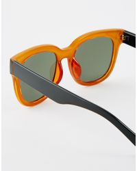 ToyShades | Green Massey Sunglaases With Contrast Frame | Lyst