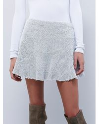 Free People | White Sunshine Smile Skirt | Lyst