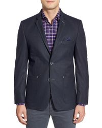 Bugatchi - Blue Two-button Blazer for Men - Lyst