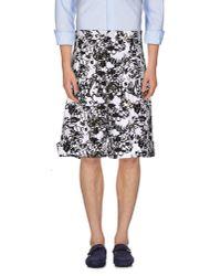 Jil Sander - White Bermuda Shorts for Men - Lyst