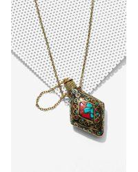 Nasty Gal - Metallic Nyna Mosaic Perfume Necklace - Lyst