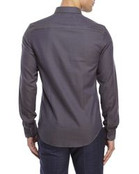 Moods Of Norway - Gray Arne Vik Button-Down Shirt for Men - Lyst