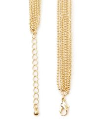 Forever 21 - Metallic Knotted Chain Necklace - Lyst