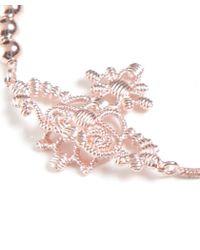 Vivienne Westwood | Pink Isolde Bas Relief Bracelet | Lyst