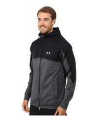 Under Armour | Gray Ua Gamut Fz Hoodie for Men | Lyst