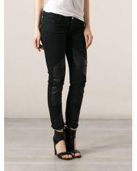 Avelon - Black Skinny Jeans - Lyst