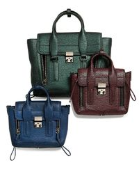 3.1 Phillip Lim - Blue Pashli Mini Tote - Lyst