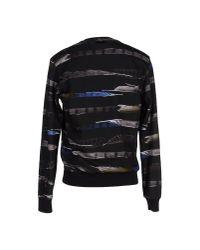Les Hommes - Black Sweatshirt for Men - Lyst