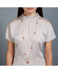 Pippa Small - Pink Flower Necklace - Lyst