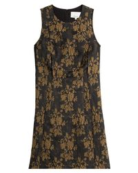 3.1 Phillip Lim | Yellow Brocade Cocktail Dress - Multicolor | Lyst