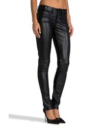 Sold Design Lab | Sterling Street Faux Leather Skinny in Black | Lyst