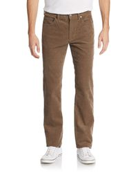 Michael Kors | Brown Corduroy Pants for Men | Lyst
