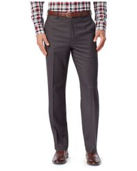 Michael Kors | Gray Michael Check Dress Pants for Men | Lyst