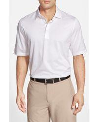 Bobby Jones - White 'Pin Jac' Pin Dot Cotton Polo for Men - Lyst