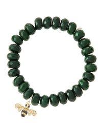 Sydney Evan | Green Design Your Own Bracelet (made To Order) | Lyst