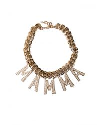 Dolce & Gabbana | Metallic Mamma Necklace | Lyst