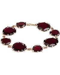 Annoushka - Brown 18ct Rose Gold And Garnet Shard Bracelet - Lyst
