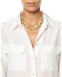 Alighieri   Metallic Gold Pearl La Calliope Necklace   Lyst