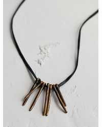 Free People | Metallic Aq For Fp By Artemas Quibble Womens Aq Quiver Pendant | Lyst