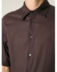 Marni - Brown Short Sleeve Shirt for Men - Lyst