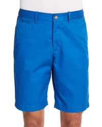 Original Penguin | Blue Basic Cotton Shorts for Men | Lyst