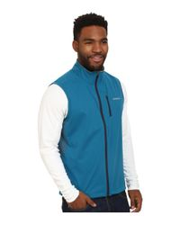 Patagonia   White Wind Shield Hybrid Softshell Vest for Men   Lyst