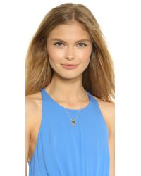 Jacquie Aiche | Metallic Eye Necklace - Black/gold | Lyst