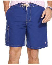 Polo Ralph Lauren - Blue Big And Tall Kailua Swim Trunk for Men - Lyst