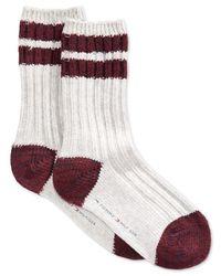 Tommy Hilfiger | Gray Women's Cabin Boot Crew Socks | Lyst