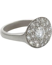 Linda Lee Johnson | White Jubilee Ring | Lyst