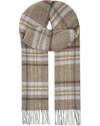 Johnstons | Brown Lambs Wool Scarf for Men | Lyst
