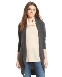Leith Gray Cocoon Cardigan