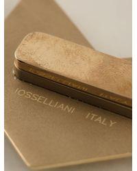 Iosselliani - Metallic 'Full Metal Jewels' Brooch - Lyst