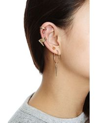 Nasty Gal - Metallic Let'S Play Earring Set - Lyst