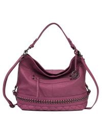 Jessica Simpson | Purple Margaret Crossbody Hobo Bag | Lyst