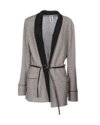 Bark - Gray Cardigan - Lyst