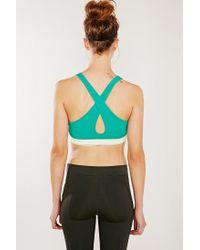 Move By Alternative - Green Keep It Simple Sports Bra - Lyst