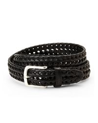 Dockers | Black Braided Belt for Men | Lyst