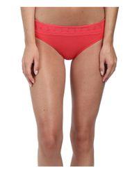 Smartwool | Red Phd® Seamless Mid Rise Bikini | Lyst