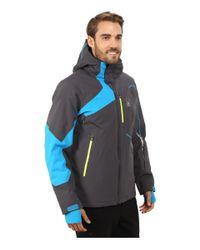 Spyder | Blue Rival Jacket for Men | Lyst