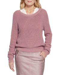 Sandwich | Pink Nostalgic Rose Cotton Jumper | Lyst