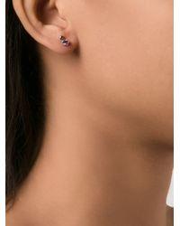 Wwake | Blue Sapphire Stud Earrings | Lyst