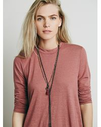 Free People - Pink Elise Dress - Lyst