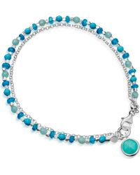 Astley Clarke | Blue Be Very Cool Sterling Silver Friendship Bracelet | Lyst