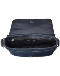 Fossil - Blue Trevor N/s City Bag for Men - Lyst
