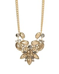 Catherine Stein | Metallic Tribal Cluster Bib Necklace - 18 Inch | Lyst